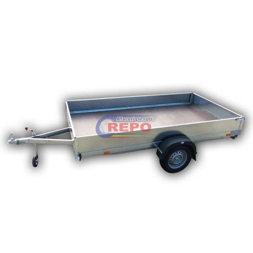 Remorca Repo, Apicola, Mono Ax, Knott, Star mini PED 3016/07 *350mm, 300x160x35 Cm, 750 Kg