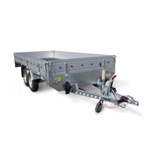 Remorca / Platforma Apicola Martz Transporter 3217/2C Dublu Ax, Cu Sistem De Franare, Al-Ko, 325x171,5x30 cm, 2000 Kg