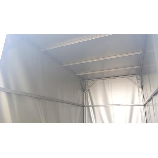 Remorca Repo Cu Prelata Profesionala Si Cadru Din Teava Rectangulara De Otel, Star Mini-RRS, Al-Ko, Mono Ax 205x115x120 Cm, 750 Kg