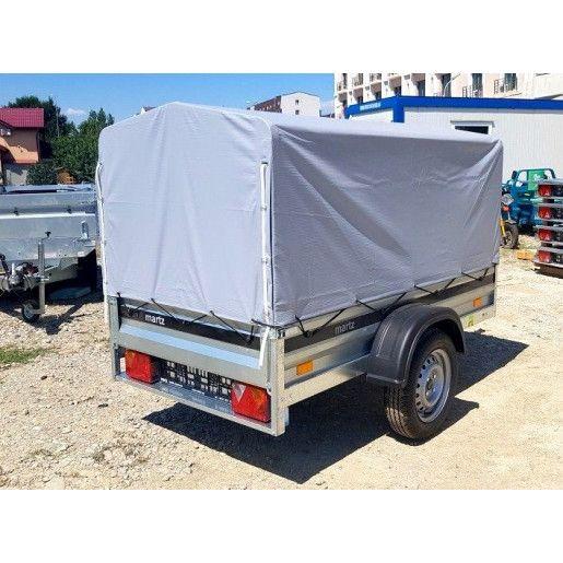 Remorca Auto Cu Prelata Martz Eco 2010+, Mono Ax, AL-KO 200x106,4x110 Cm, 750 kg