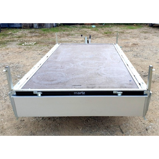 Remorca / Platforma Apicola Martz Transporter 3217/2C Dublu Ax, Cu Sistem De Franare, Al-Ko, 325x171,5x30 cm, 2700 Kg
