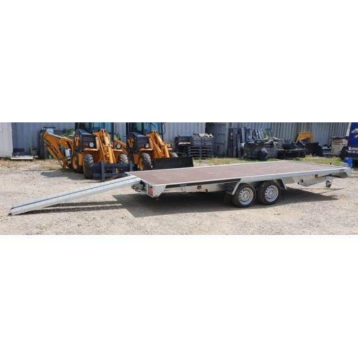 Remorca, Platforma Auto, Apicola, Martz Carplatform 5020 S, Dublu Ax, Cu Sistem De Franare, Al-Ko 500x200 cm, 2700 kg