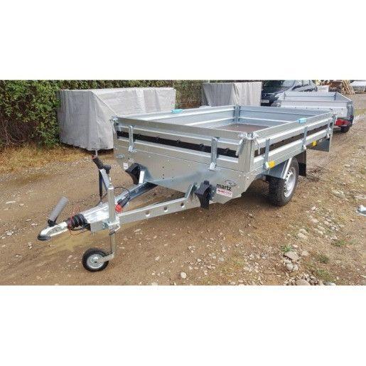 Remorca Martz, Transporter 2615 C High Bed, Mono Ax, Cu Sistem De Franare, Al-Ko 263x153x30 cm 1300 Kg
