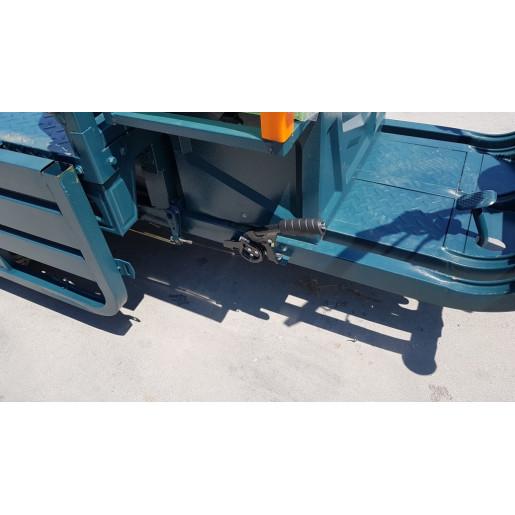 Triciclu Electric - Tuk Tuk - camioneta MOVE ECO 290x100 cm Verde