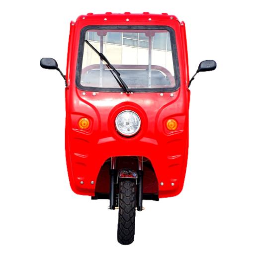 Triciclu Electric, Voltarom Hercules, Tuk Tuk, Cu Cabină Motor 3900W, 72V, 60Ah