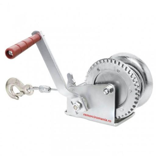 Troliu Universal, Manual, Cu Cablu De Otel, Lungime 10 m, Sarcina Maxima 500 Kg