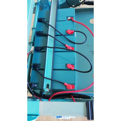 Baterie Triciclu Electric - Free-Ride Cargo - Tuk Tuk - camionetă 290x100 cm TM1