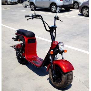Scuter, bicicleta electrica, Citycoco, Harley, Scooter electric, MOVE ECO, Baterie Litiu Ion, autonomie 60 km, viteza maxima 45 km/h