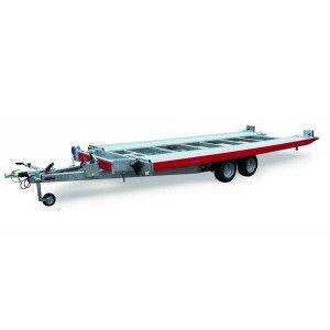 Remorca, Platforma Auto, Apicola, Martz CARKEEPER 4820 S, Dublu Ax, Cu Sistem De Franare, Al-Ko 480x200 cm, basculare hidraulica, roti 10 inchi, 2700 kg