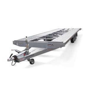 Platforma Auto, Martz GT KIPPBAR 400, Dublu Ax, Cu Sistem De Franare, Al-Ko 480x200 cm, basculare hidraulica, roti 10 inchi, 3000 kg