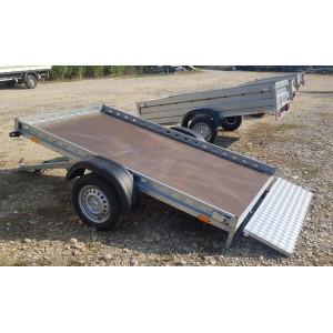 Platforma ATV, Basculabila, Remorca auto Repo, Mono Ax, AL-KO, Star mini RDS 2412, 240x125x10 Cm, 750 Kg