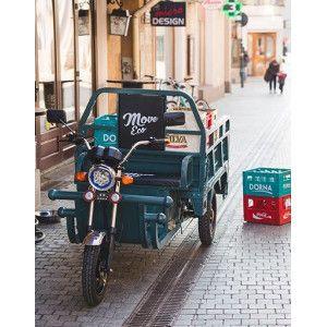 Triciclu Electric - Tuk Tuk - camioneta MOVE ECO 290x100 cm