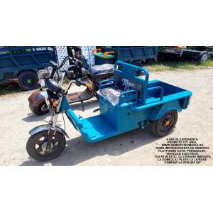 Triciclu Electric - Tuk Tuk - camioneta - masina electrica - vehicul electric - MOVE ECO 235x78 Cm