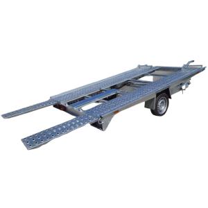 Remorca, Platforma Auto,ATV, Buggie, Side By Side, Repo, RSA 3519/15 B, Mono Ax, Cu Sistem De Franare, Al-Ko 350x200 cm, 1500 kg