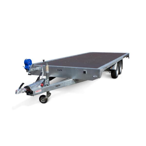 Remorca, Platforma Auto, Apicola, Martz Carplatform 5020 S, Dublu Ax, Cu Sistem De Franare, Al-Ko 500x200 cm, 3500 kg