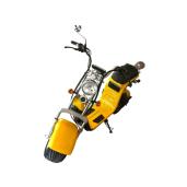 Scuter, bicicleta electrica, Citycoco, Harley, Scooter electric, Baterie Litiu Ion, autonomie 60 km, viteza maxima 45 km/h - Albastru