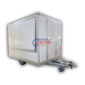 Remorca Repo Comarciala, Petro RSC 3020/15 Mono Ax, Cu Sistem De Franare Al-Ko, 300x216x230 1500 Kg