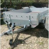 Remorca / Platforma Apicola Martz Transporter 3217/2C Dublu Ax, Cu Sistem De Franare, Al-Ko, 325x171,5x30 cm, Detarata de la 2000 Kg, la 1600 Kg