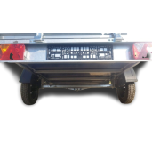 Remorca, Platforma Apicola, ATV, Basculabila, Repo, Mono Ax, AL-KO, Star mini RDS 2613, 260x135x40Cm, 750 Kg