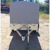 Remorca Auto Cu Prelata Martz Eco 2312, Mono Ax, AL-KO 236x125x110 Cm, 750 kg