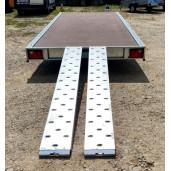 Spate platforma, rampe ajustabile pentru orice ecartament