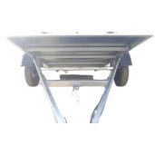 Remorcă Auto, ATV, Mărfuri, Basculabilă, Repo, Cu Prelată, Mono Ax, AL-KO, Star mini RDS 2613, 260x135x150 Cm, 750 Kg