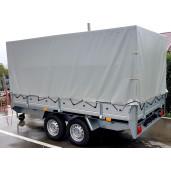 Remorca / Platforma Apicola Martz Transporter 3217/2C Dublu Ax, Cu Sistem De Franare, Al-Ko, 325x171,5x30 cm, 1500 Kg