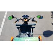 Triciclu Electric - Tuk Tuk - camioneta  290x100 cm Verde